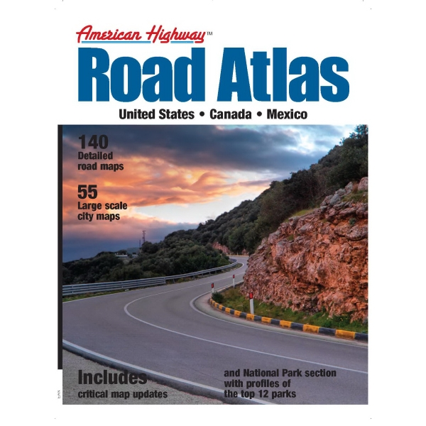 American Highway - Medium Road Atlas Photo