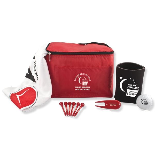 6 Pack Golf Kit
