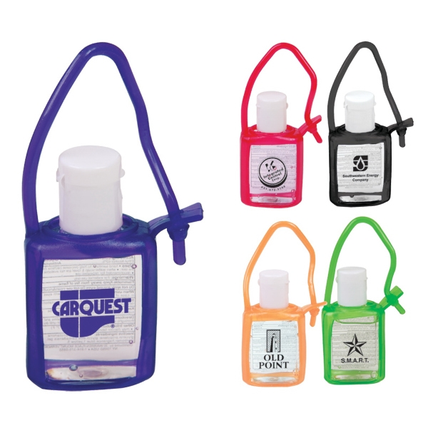 Travel Size Gel Sanitizer In Tag-along Bottle - 0.5 Oz Photo