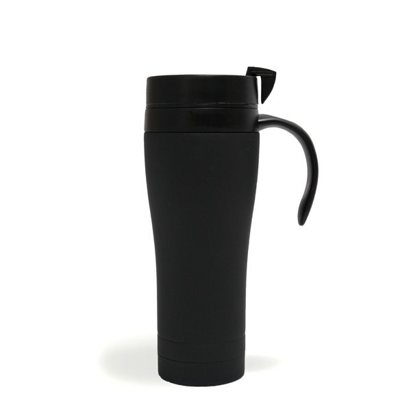 Luxy - Black - 15 Oz. Stainless Steel Coffee Mug Photo