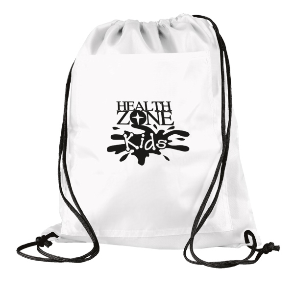 Insulated Cinch Up Drawstring Backpack Photo
