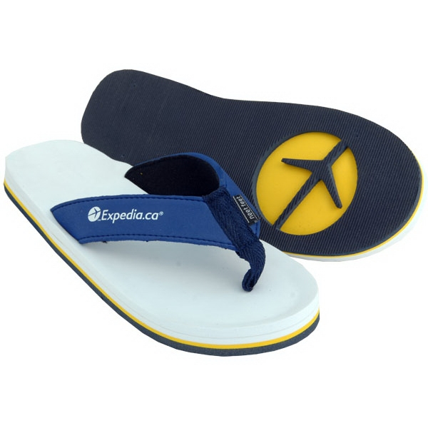 Tahiti - Flip Flop With 3 - Layer Recessed Sole, Arch Support And Soft Eva/fabric Straps Photo