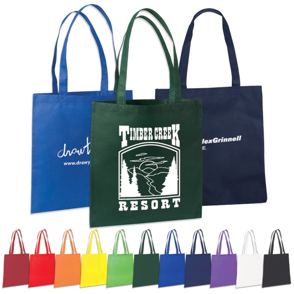 "Non Woven Value Tote With 22"" Reinforced Handles Photo"