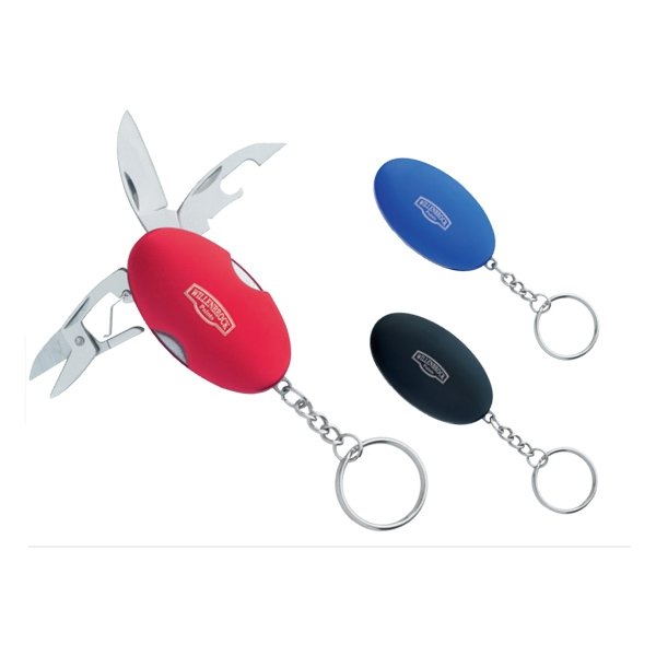 Oval 3-in-1 Keychain