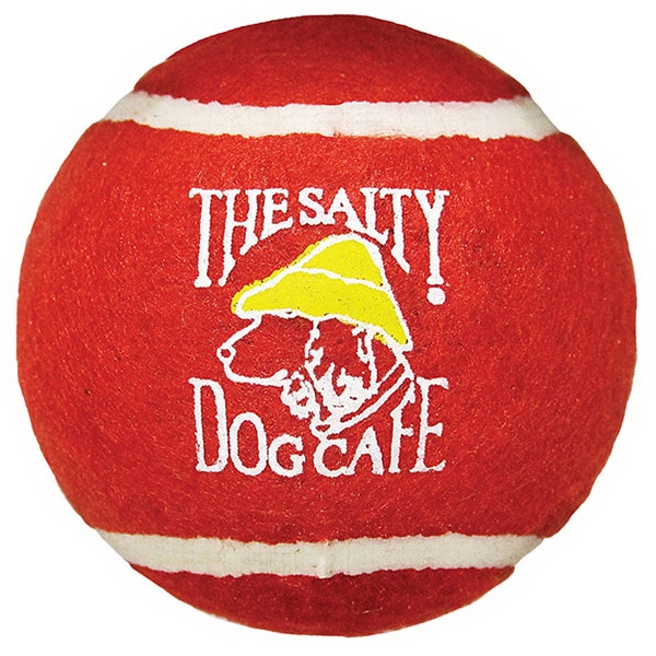 Tennis Ball, Second Quality For Practice And Dog Toy Photo
