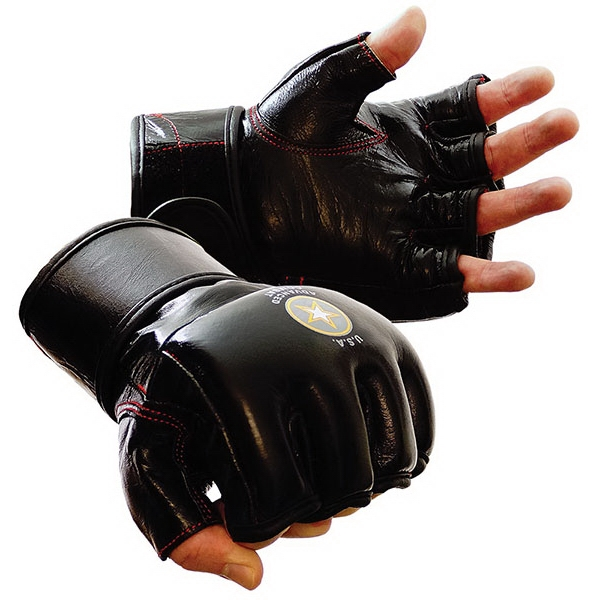 Mma Boxing Gloves, Genuine Leather Photo