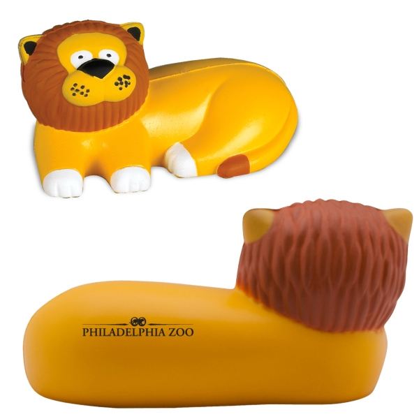 Lion Stress Reliever. Closeout Photo
