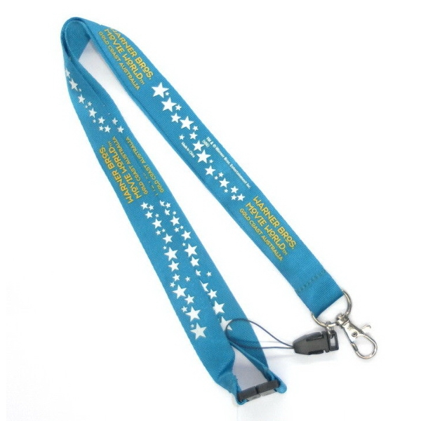 Nylon Lanyards with Safety Breakaway