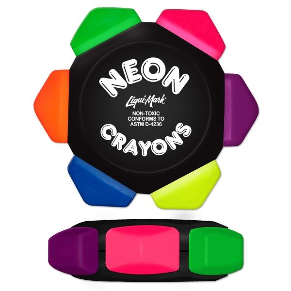 Neon Crayon Wheel