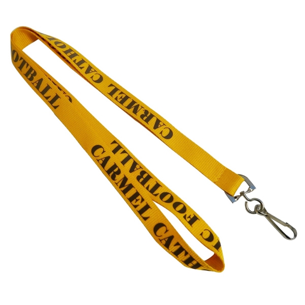 Gold Polyester Lanyards