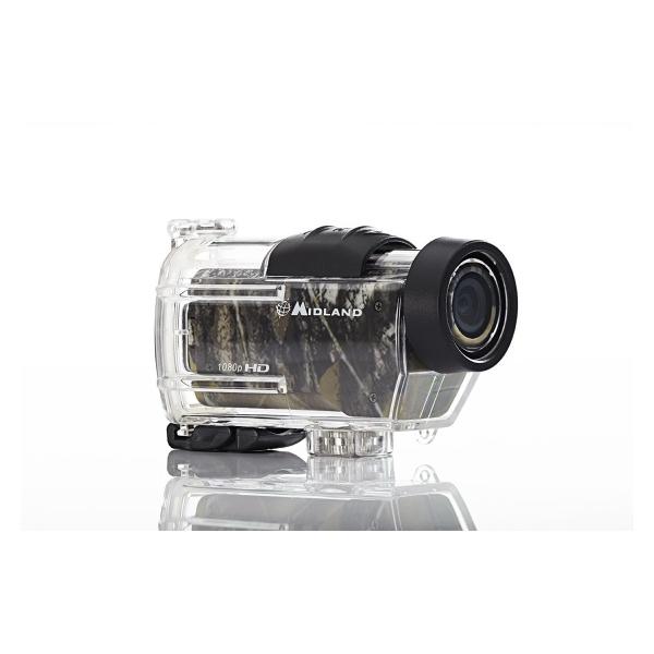 1080p Full HD Action Camera, Mossy Oak Camo Case