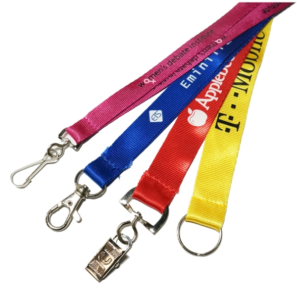 7 Day Rush Nylon Lanyard