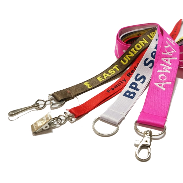 Embroidery Stitch Lanyards