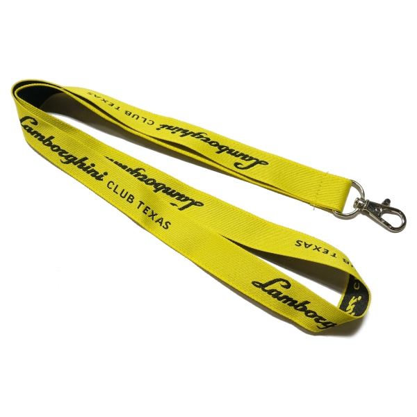 "Woven lanyards - 3/4""  (20mm)"
