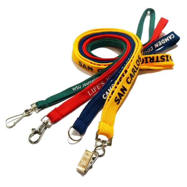 Shoe lace lanyards