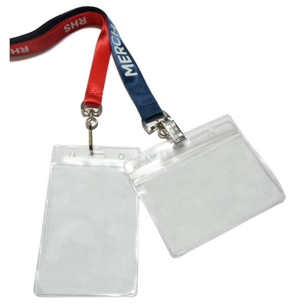 Badge Holder Nylon Lanyard