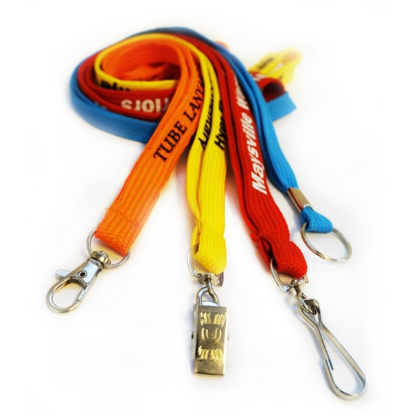 Tube Lanyards with Safety Breakaway
