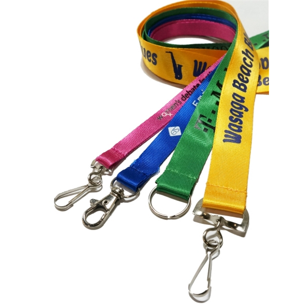 Low Minimum Nylon Lanyard