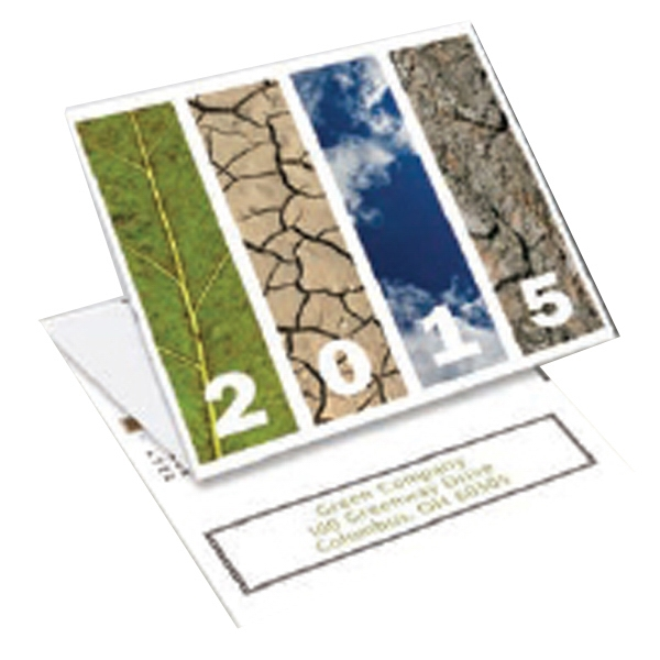 Seasons - Tri-fold Calendar With Stock Design Photo