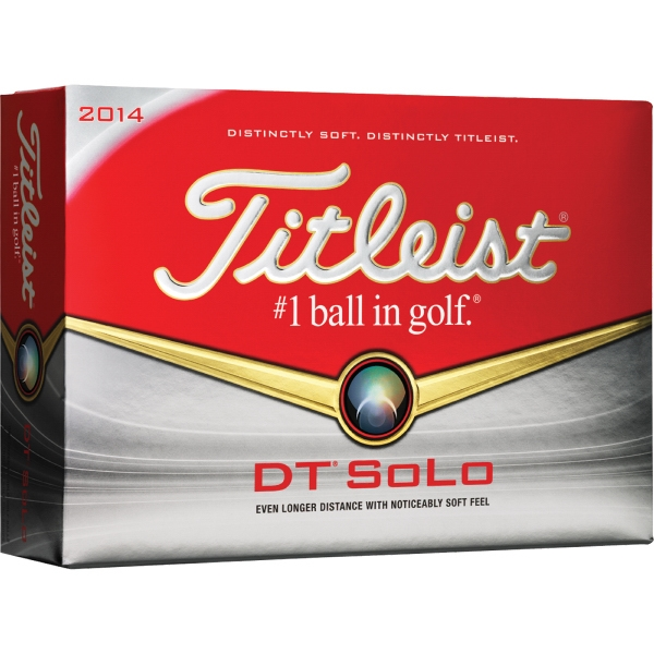 Dt (r) Solo Titleist - Catalog 3 Day Production - Golf Ball With Responsive Short Game Performance Photo