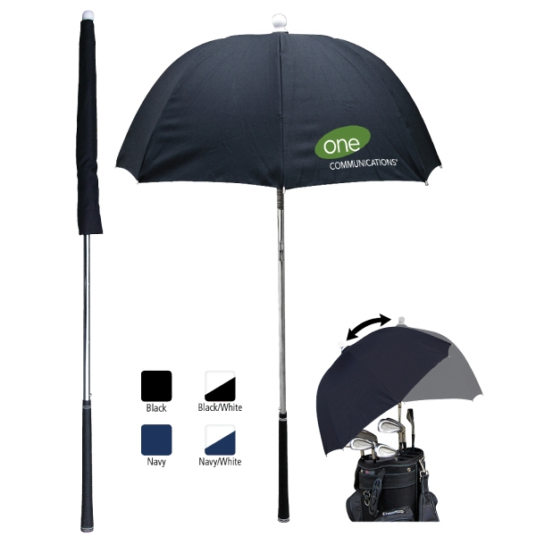 "Catalog 10 Day Production - Golf Bag Umbrella With 36"" Arc Photo"