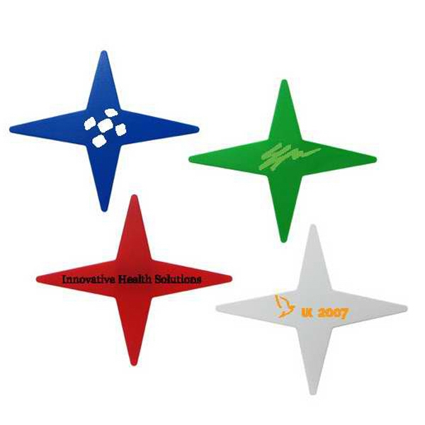 4 Point Star Magnet Clip