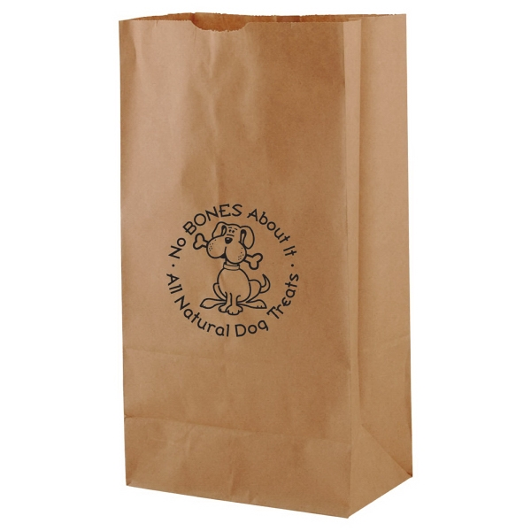 "7"" X 13.75"" - Natural Color Number Four Sos Paper Bag Photo"
