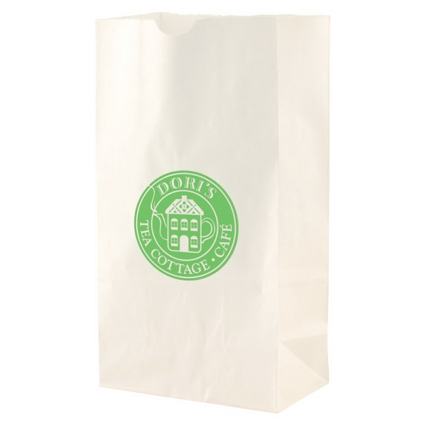 "6"" X 11"" - White Color Sos Paper Bag Photo"