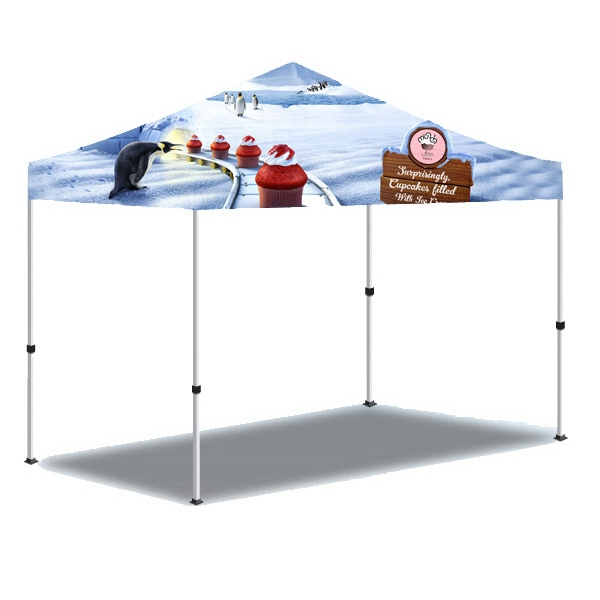 10x10 3 Day Custom Printed Pop Up Event Tent-Full - Custom Printed Pop Up Outdoor Event Tent-Full.