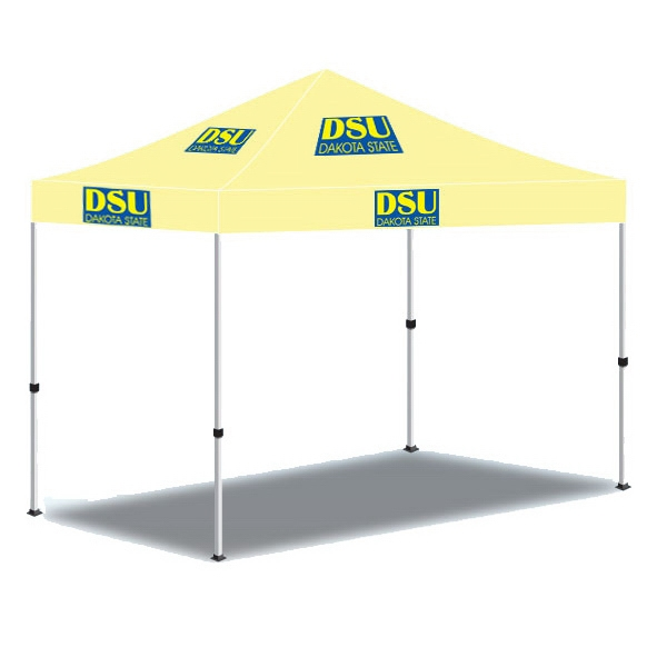 10ftx10ft Custom Made Printed Canopy Tent-2 Color - 10ft x 10ft Custom Made Printed Canopy Tent-2 Color