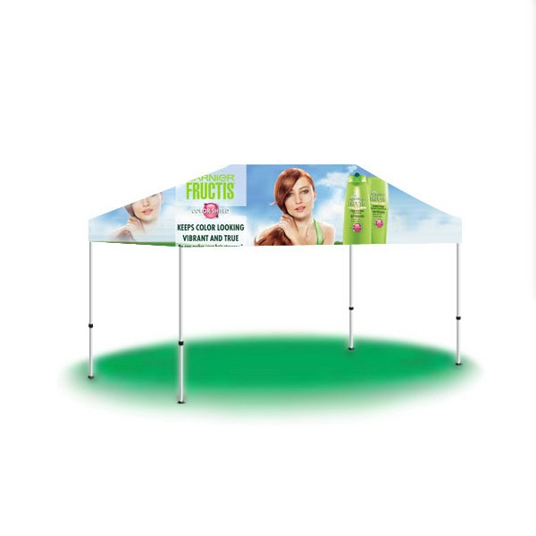 10ftx15ft Custom Printed Pop Up Canopy - Full Digital - 10ftx15ft Custom Printed Pop Up Canopy - Full Digital