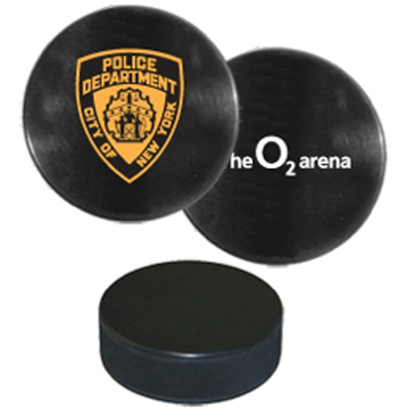 Regulation Size And Weight Hockey Puck Photo