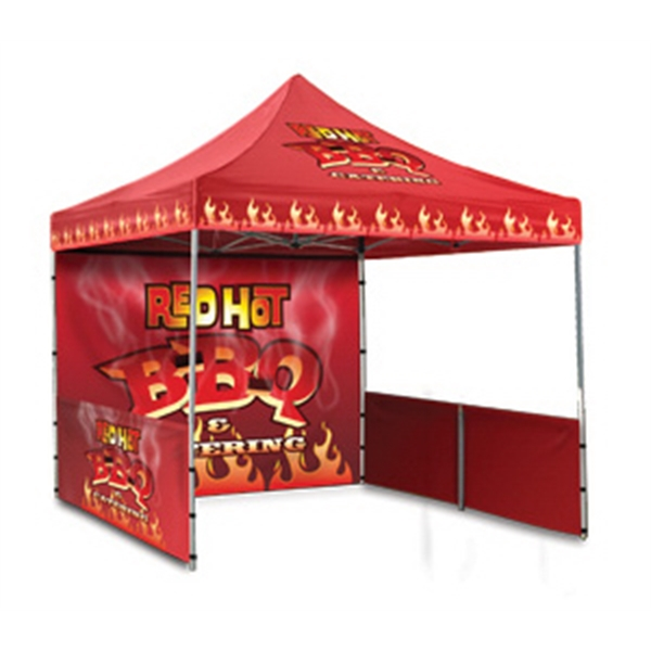 4 Color Full Bleed - Durable Event Tent Full Wall Photo