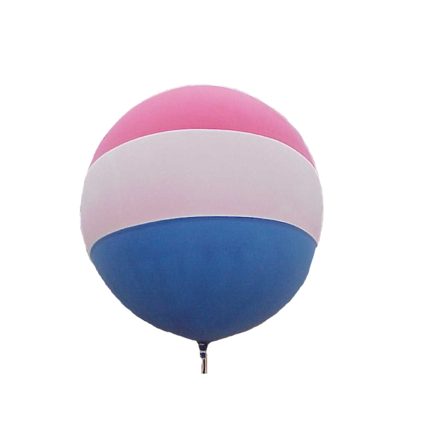 Cloudbuster (tm) - Tri-tone Balloon With Pennant Line And Instructions, Blank Photo