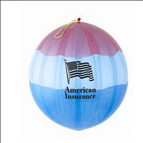Adpunch (tm) - All-american Tri-color Punch Balls Made From 100% Natural, Biodegradable Latex Photo
