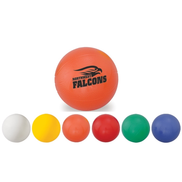 Admax (tm) - Mini Soft Textured Vinyl Basketball Photo