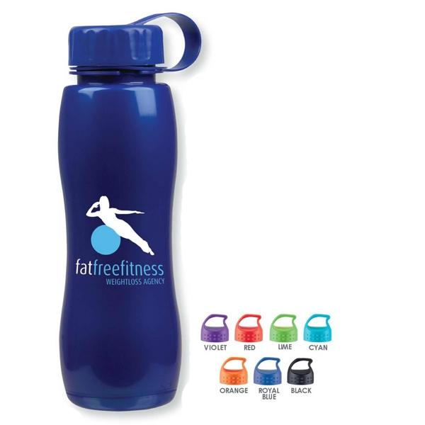 Personal Refillables (tm) - Our New 25 Oz/750ml Poly-pure Slim Grip Bottle Is Is Contoured For Easy Handling Photo