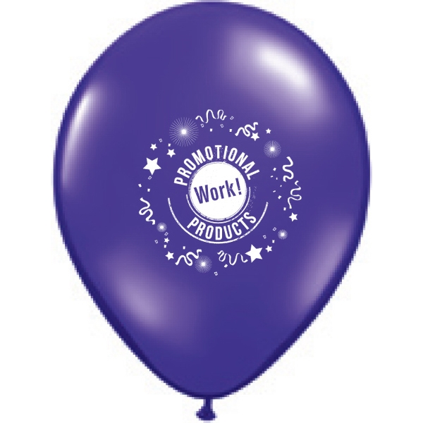 "Qualatex (r) - Jewel And Fashion Colors Round Latex Balloon, 11"" Photo"