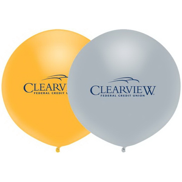 Outdoor Display Balloon In Metallic Colors Photo