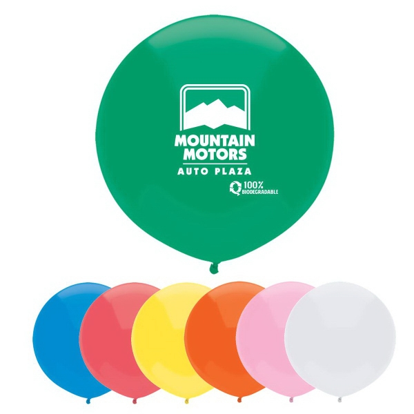 Outdoor Display Balloon In Basic Colors Photo