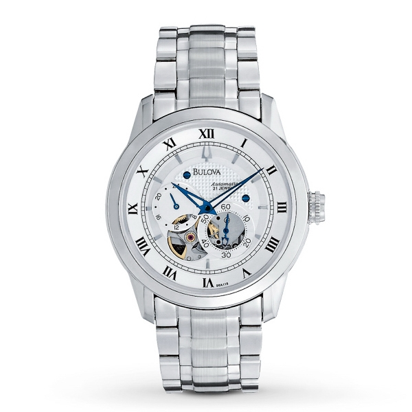 Bulova Men's Automatic BVA-Series Stainless Steel Watch