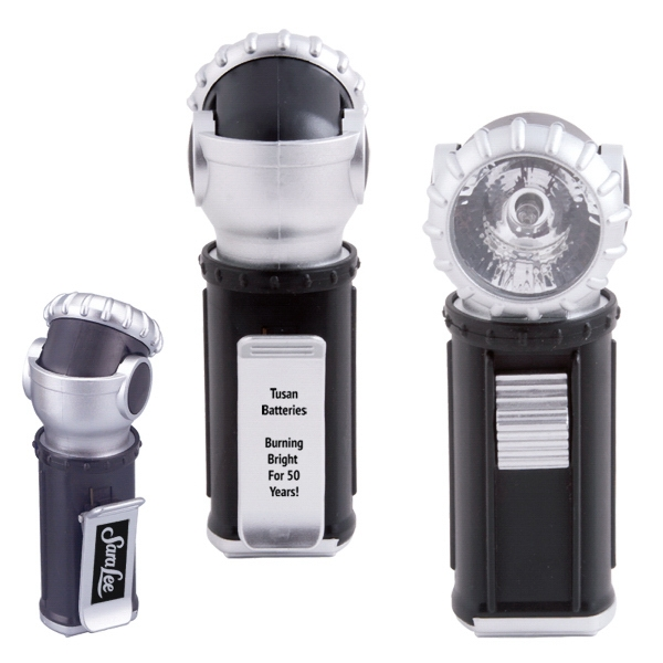 Swivel Flashlight With Clip On Back Photo