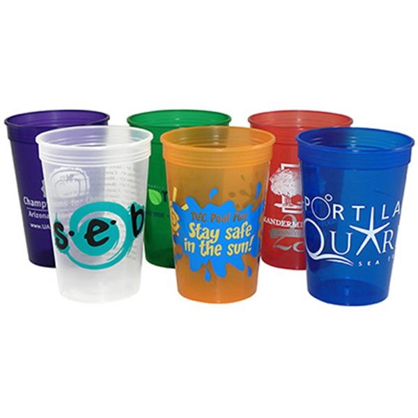 Jewel - 16 Oz. Jewel/translucent Stadium Cup Photo