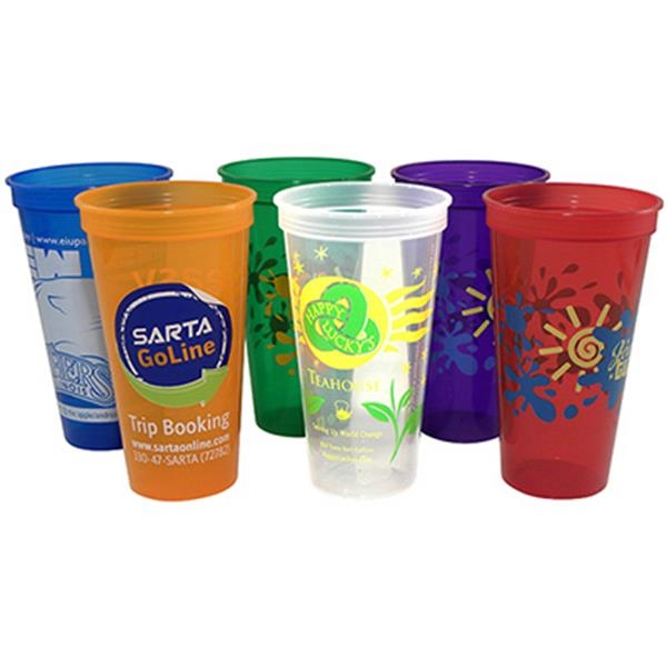Jewel - 24 Oz. Jewel/translucent Stadium Cup Photo