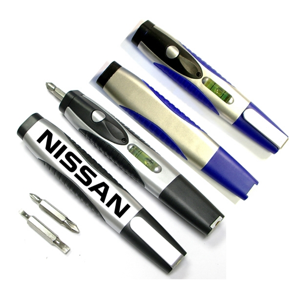 Mini flashlight tool with light and screwdriver