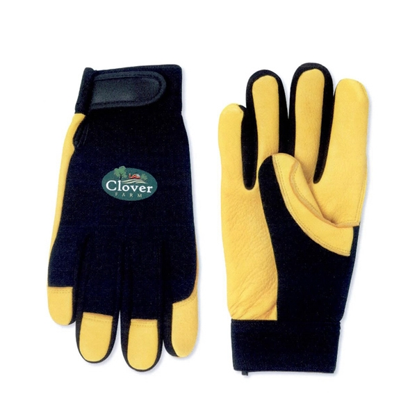 Deerskin Palm Mechanic Glove