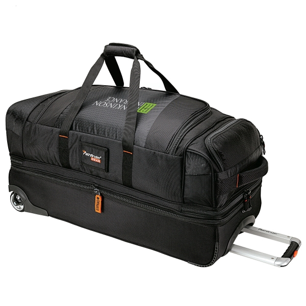 "Pathfinder 32"" Rolling Duffel - Rolling duffel bag with 42"" telescopic hand and padded top handle."