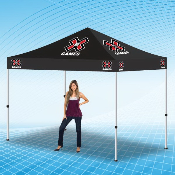 Tent 10x10 Full Color Pop Up Portable Outdoor Canopy Tent - Portable tent is made from highest grade material.  Pop Up Shelter, Party Canopy