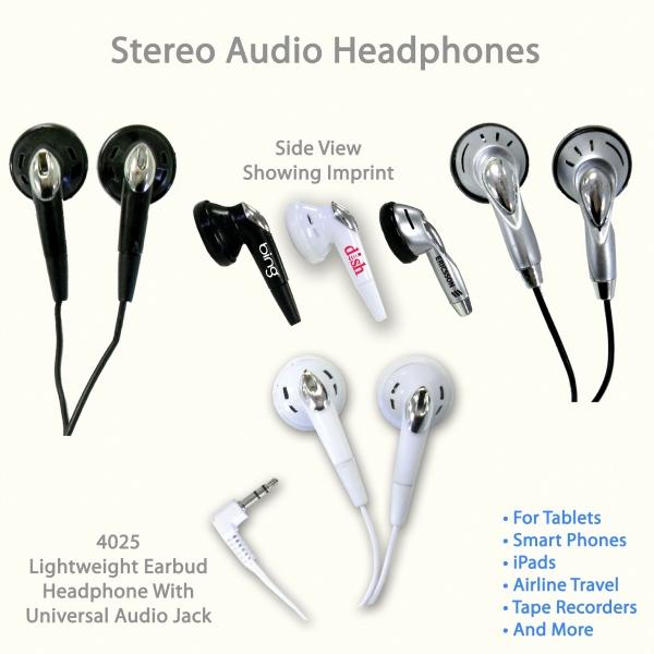 Stereo Audio Headphones