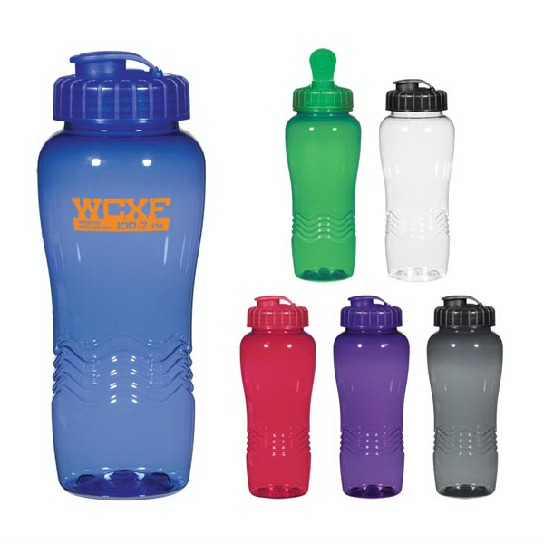 Poly-Clean 26 Oz. Wave Bottle